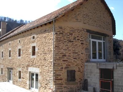 Pignon et façade